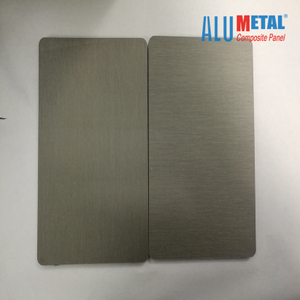 Titanium Zinc Composite Panel