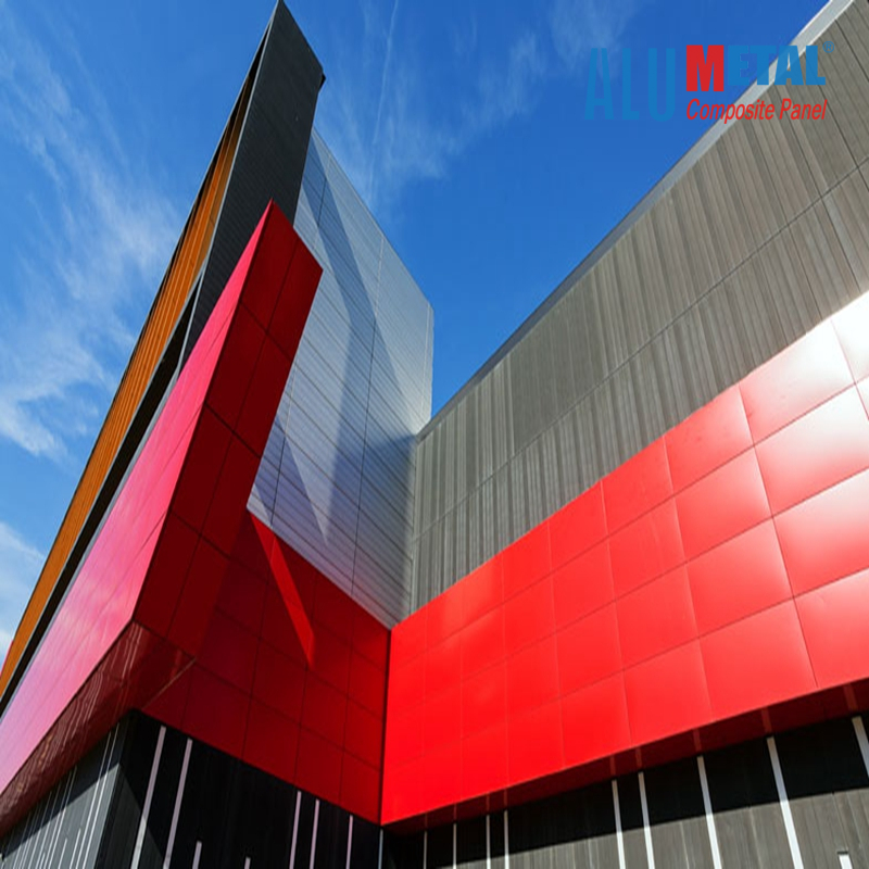 Alumetal Construction Aluminum Composite Panel